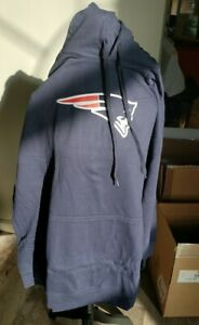 PATRIOTS Blue Hoodie Pullover Sweatshirt. Size 4X  NEW. Official licensed.