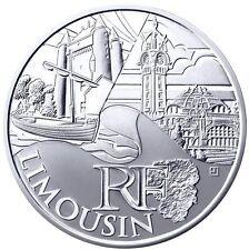 10 Euros région LIMOUSIN 2011