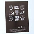 Publicidad BELL & ROSS / Advert Reklame Publicite Anuncio Watch Uhr Spanish Ad