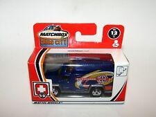 Matchbox Superfast 2002 Hero City Ambulance Blue MBRT MIB