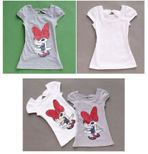 Popular New Baby Girls Dress Cartoon minnie mouse casual dress kid skirt 3-8Y ch