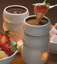max brenner love Fire Chocolate Fondue 2 Tower 4 four people Valentines Day Gift