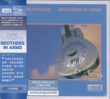 """DIRE STRAITS """"BROTHERS IN ARMS"""" Japan JVC SHM-CD XRCD XRCD2 Audiophile Brand New"""