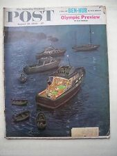 Saturday Evening Post Aug 20th 1960