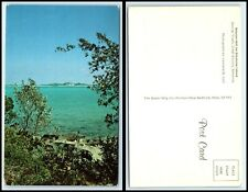 BAHAMAS Postcard - George Town, Great Exuma, Beacon Hill On Stocking Island K5