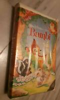 WALT DISNEY BLACK DIAMOND BAMBI VHS 1942 ISBN: 1-55890-942-7 IN CLAM SHELL CASE