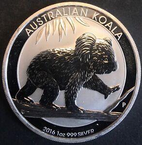 Australia - Silver 1 Dollar Coin - 1 Oz. - 'Australian Koala' - 2016 - UNC