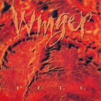 WINGER - PULL  ltd / 750 coloured vinyl lp reissue MOVLP1997C