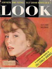 1957 LOOK October 15 - Suzy Parker; Drug addicts; Messerschmidt; Notre Dame