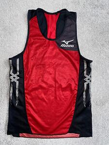 Mizuno Small Medium Track Marathon Running Racing Vest Race Singlet