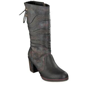 1287-514-303 Mustang Damen Schuh Stiefelette Mokka