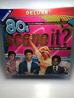 NIB Scene It? 80's Deluxe Edition DVD Trivia Game - New Sealed 2009 Video NRFB