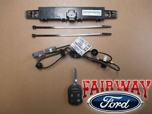 11 thru 14 F-150 OEM Genuine Ford Remote Start Kit - Single Key - FACTORY NEW