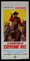 L85 Plakat die Abenteuer Von Cheyenne Bill Clint Walker Whitney Blake Alan Hale