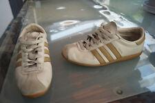 Adidas récord señora zapatos zapatillas Old School luafschuhe talla 38 cuero beige