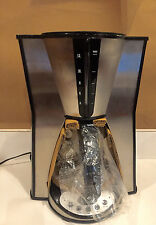 Gevalia GS-CM1003 A J11 BLACK 12 cup stainless steel coffeemaker  950 WATTS NIB