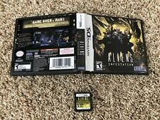 ALIENS INFESTATION - NINTENDO DS , DSI , 2DS , 3DS , AUTHENTIC CARTRIDGE, RARE
