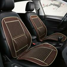 2x Plastic Wooden Beads Car Seat Cover Cushion Cool Pad Massage Breathable New
