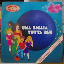 PANNA E CREMA UNA BIGLIA TUTTA BLU ITALY PRESS SP PONZO RECORDS 1979