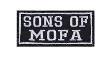 Sons Of Mofa Patch Aufnäher Badge Biker Heavy Rocker Bügelbild Kutte 2 TAKT Stic