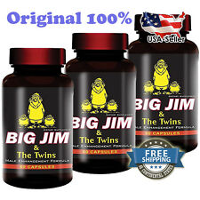 3X PENIS ENLARGEMENT PILLS - BIG JIM & THE TWINS - BEST MALE ENHANCEMENT