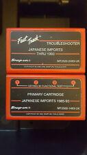 SNAP ON  MT2500 japanese import software & troubleshoter cardridges