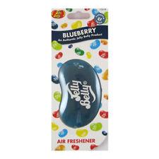 JELLY BELLY 3D CAR AIR FRESHENER - BLUEBERRY FLAVOUR - AIR FRESHNER NEW