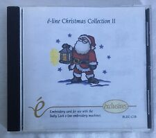 E-Line Embroidery Designs Card - Christmas collection 2 baby lock santa
