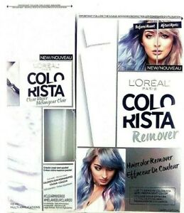 LOREAL PARIS COLO RISTA Clear Mixer #CLEARMIXER00 Semi-Permanent & Remover Kit