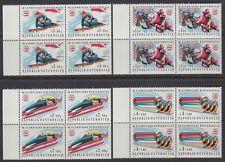 Österreich Austria 1975 ** Mi.1479/82 Olympische Spiele Winter Olympics [sr1520]