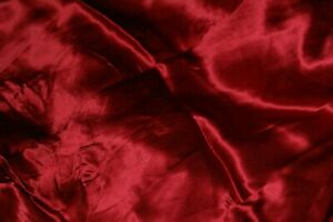 pure SILK charmeuse red satin sheets 4 pc set includes 2 pillowcases