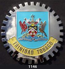 CAR GRILLE EMBLEM BADGES -  TRINIDAD & TOBAGO