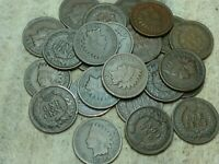 1905 Indian Head Cent half-roll - 25 coins, nice condition