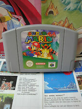 Nintendo 64 N64:Super Mario 64 [TOP PLATE-FORME & 1ERE EDITION] SEUL - Fr