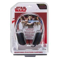 Star Wars Kid Friendly Volume Reduced Youth Stereo Headphones (SW-140.3Xv7M) NEW