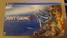 Just Cause 3 Collector's Edition Sony PlayStation 4, 2015 Factory Sealed!!! Read