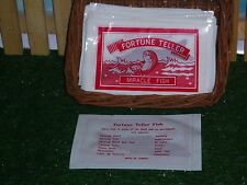 FORTUNE TELLER - MIRACLE FISH - SET OF 20 - BASKET INCLUDED.