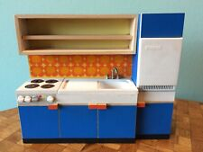 Küchenzeile Küche Bodo Hennig 70er Puppenstube Puppenhaus 1:12 dollhouse kitchen