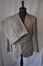 """Vintage Austin Reed brown wool check suit size chest 40"""" Waist 34"""" made England"""