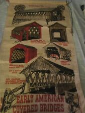 Vintage Linen Kitchen Tea Towel