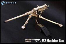 1/6 ZY Toys tan .50 Caliber Machine Gun - Dagon / GI Joe/ Ultimate Sodier