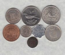 More details for eight malta coins in fair or better condition