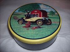 Cookie Bear Tin Music Box - For The Good Times