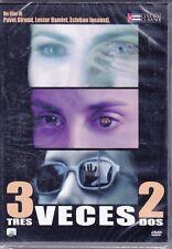 Dvd ** 3 TRES VECES DOS 2** nuovo 2004