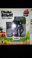 3DS Chibi-Robo! Zip Lash Game Bundle w/ Amiibo BRAND NEW FACTORY SEALED Nintendo