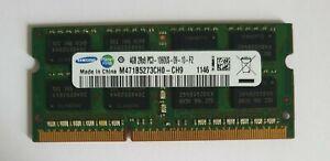 SAMSUNG 1X4GB 4GB M471B5273CH0-CH9 DDR3 4GB 2Rx8 PC3 10600S Laptop Ram Memory