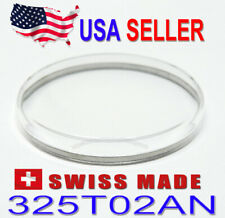 Plexi Crystal 325T02AN Tension Ring for Seiko 4006 Bellmatic Watch Swiss Made