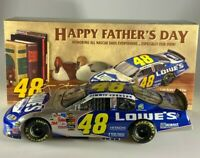 Action Jimmie Johnson #48 Lowe's Father's Day 2004 Monte Carlo 1/24
