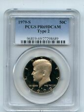 1979 S 50C T2 Type 2 Kennedy Half Dollar Proof PCGS PR69DCAM