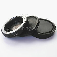 Pentax K PK Lens to Sony Alpha Minolta AF MA Adapter Infinity focus Glass A99